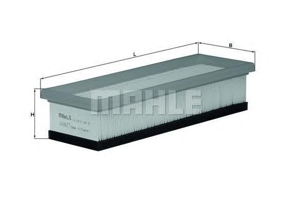 Воздушный фильтр MAHLE LX1827