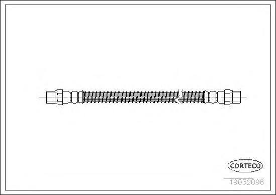 19032096 CORTECO Тормозной шланг