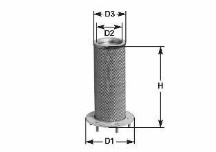 Воздушный фильтр CLEAN FILTER MA504