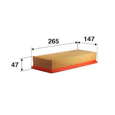 585010 VALEO Воздушный фильтр