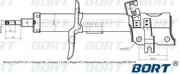 G22251023L BORT Стойка амортизационная газомасляная передняя левая для Nissan X-Trail T31 (07-), Qashqai (06-), Qashqai + 2 (08-), Rogue (07-); Renault Koleos (08-); Samsung QM5 (08-) FL