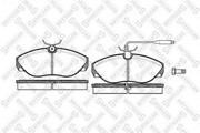 497002BSX STELLOX Комплект тормозных колодок