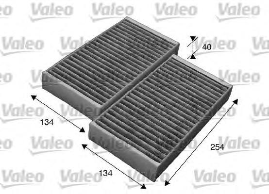 Фильтр, воздух во внутренном пространстве VALEO 715544