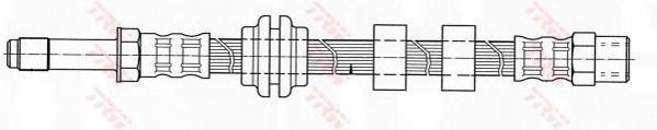 PHB345 TRW/LUCAS Шланг тормозной