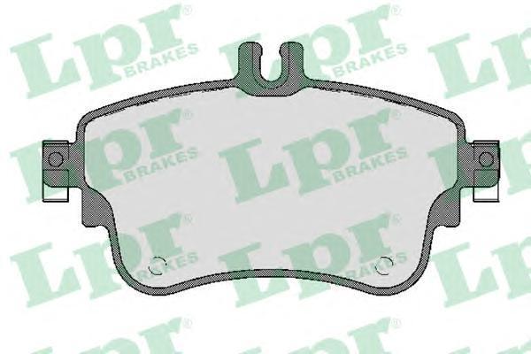 05P1780 LPR/AP Комплект тормозных колодок