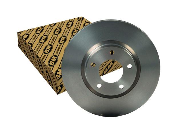 Диск тормозной передний вентилируемый (1шт.) ВМ-MOTORSPORT BDV523