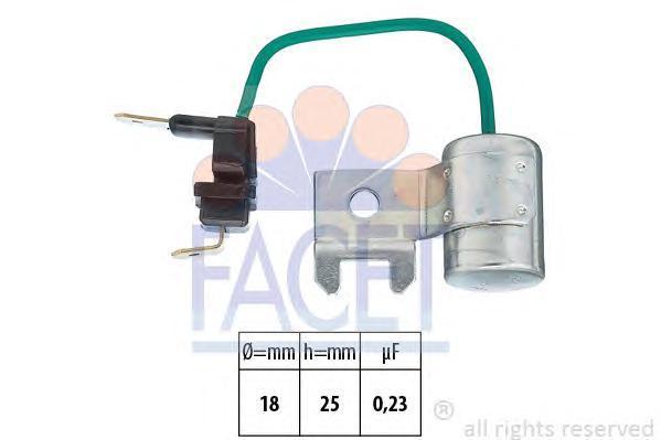 0017995 FACET Конденсатор, система зажигания
