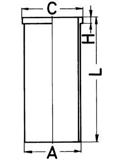 Гильза цилиндра KS 89183191