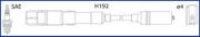 134779 HUCO Комплект проводов зажигания