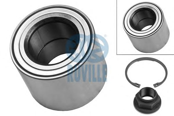 4037 RUVILLE Комплект подшипника ступицы колеса