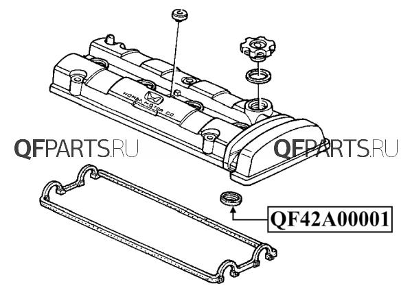 Кольцо уплотнительное свечного колодца QUATTRO FRENI QF42A00001