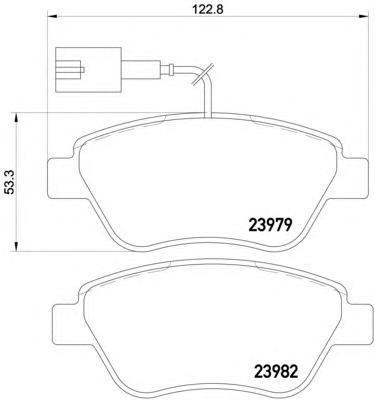 2397903 TEXTAR Комплект тормозных колодок, дисковый тормоз