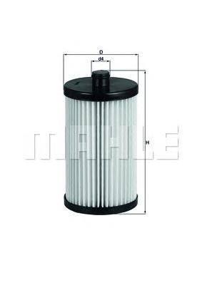 KX222D KNECHT Фильтр топливный