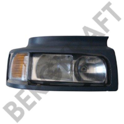 Фара головного света с фонарём указателя поворота [правая,в сборе с облицовочной панелью] RENAULT VI BERGKRAFT BK7308981