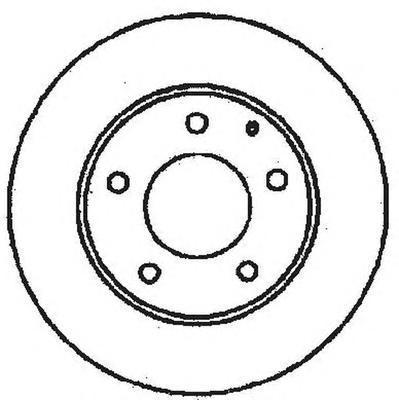 561716JC JURID Тормозной диск