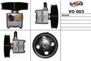 VO003 MSG Насос ГУР новый VOLVO C70 I кабрио 98-05,C70 I купе 97-02,S60 00-10,S70 97-00,S80 I 98-06,V70 I