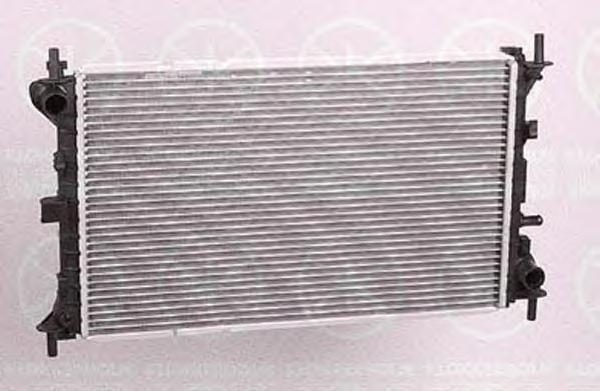 2532302265 KLOKKERHOLM Радиатор, охлаждение двигателя