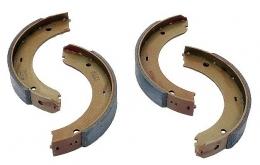 Комплект тормозных колодок, стояночная тормозная система PORSCHE 98635299501