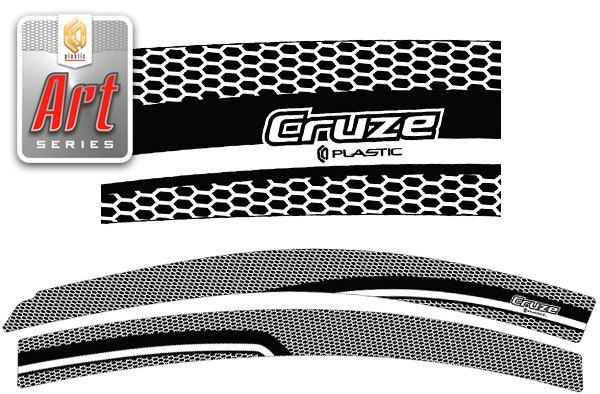 2010031504772 CA PLASTIC Ветровики дверей Chevrolet Cruze седан 2009-н.в. Серия