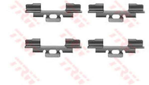 PFK186 TRW/LUCAS Комплектующие, колодки дискового тормоза