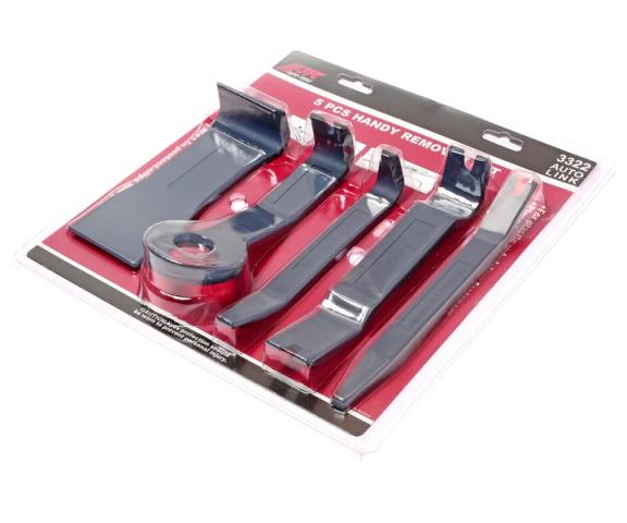 Съемник облицовок панели комплект 5 предметов JTC JTC3322