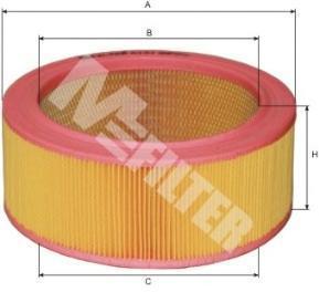 Воздушный фильтр M-FILTER A121
