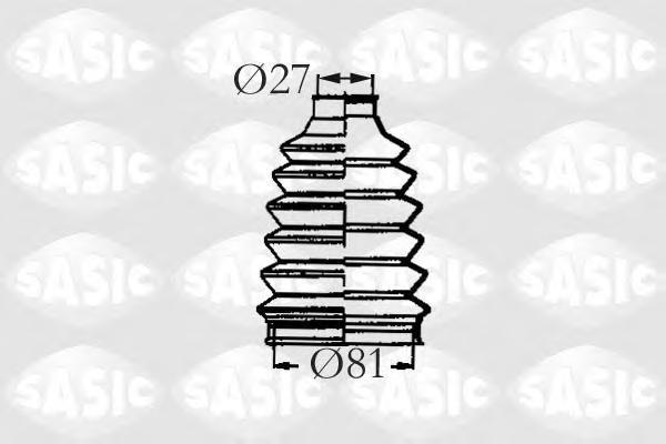 2933193 SASIC Комплект пылника, приводной вал
