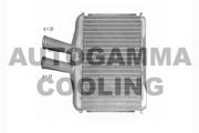102585 AUTOGAMMA Теплообменник, отопление салона