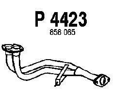 Труба выхлопного газа FENNO P4423