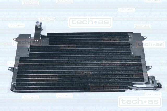 4002V106 TECH-AS Радиатор кондиционера TECH-AS