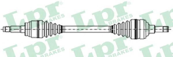 DS21029 LPR Приводной вал