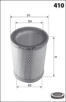 EL2133 MECAFILTER Воздушный фильтр