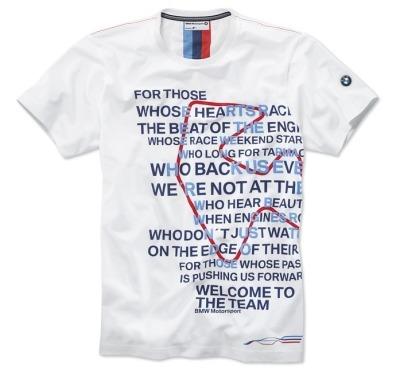80142285826 BMW Мужская футболка BMW Motorsport Graphic T-Shirt размер: L