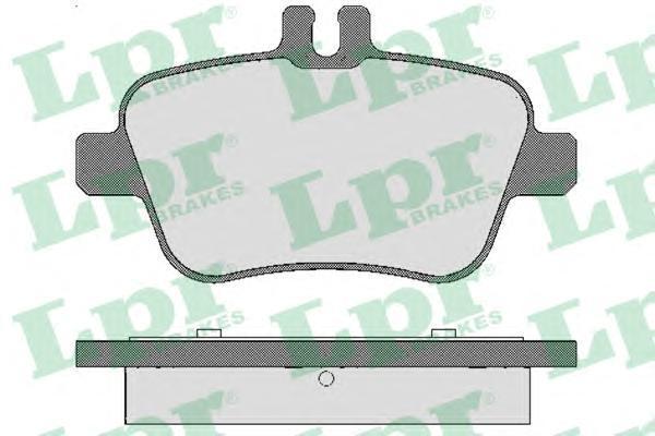 05P1782 LPR/AP Комплект тормозных колодок