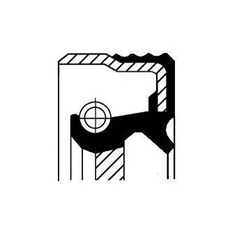 Уплотняющее кольцо, ступенчатая коробка передач CORTECO 12030146B