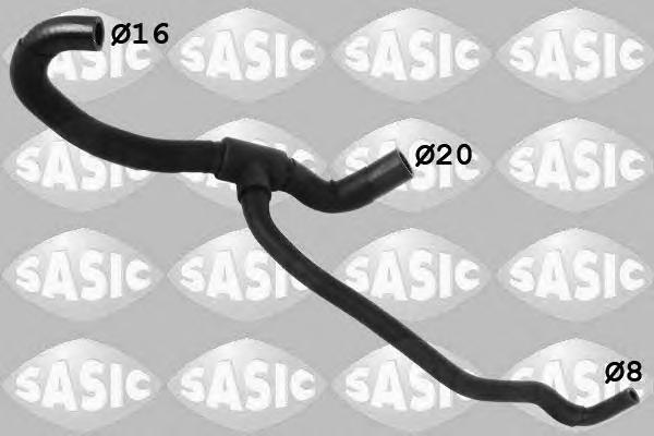 3406263 SASIC Шланг радиатора