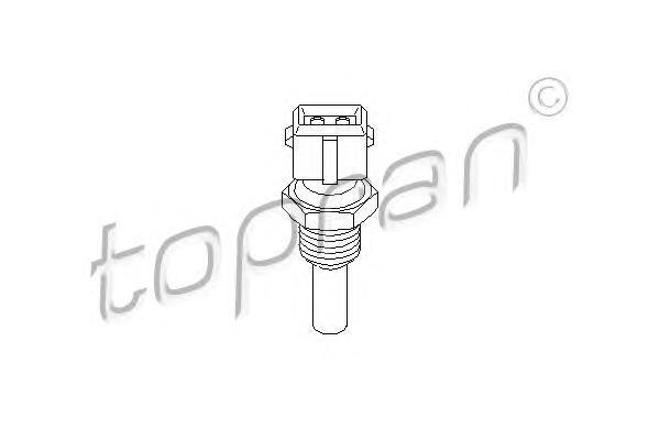 100686 TOPRAN Температурный датчик охлаждающей жидкости