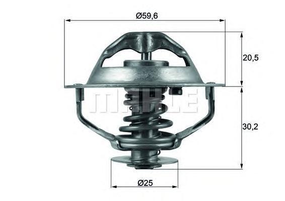 TX10790D MAHLE/KNECHT Термостат, охлаждающая жидкость