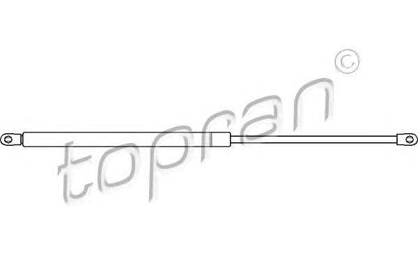 104097 HANS PRIES Упругий элемент, крышка багажника / помещения для груза