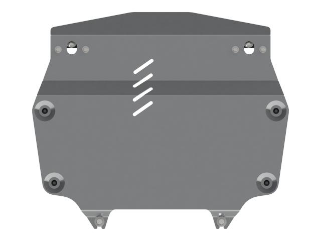 092392 SHERIFF Защита картера и КПП, AL 4 мм, вес: 6,19, время  установки: 15-30 мин.