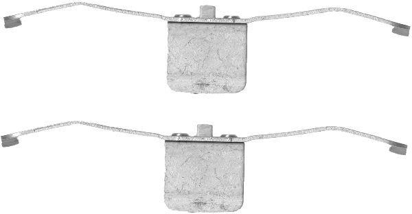 8DZ355201331 HELLA комплект принадлежностей, тормозной суппорт