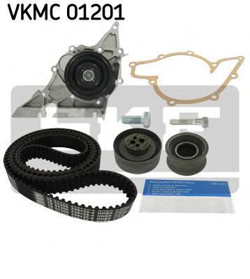 VKMC01201 SKF Водяной насос + комплект зубчатого ремня