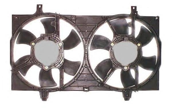 47304 NRF Вентилятор, охлаждение двигателя