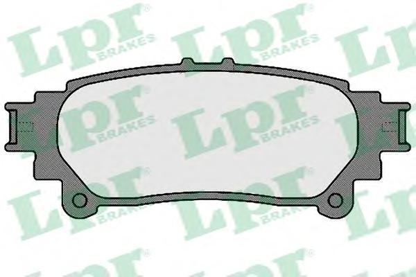 Комплект тормозных колодок, дисковый тормоз LPR/AP 05P1693