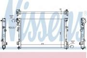 61875A NISSENS Радиатор, охлаждение двигателя