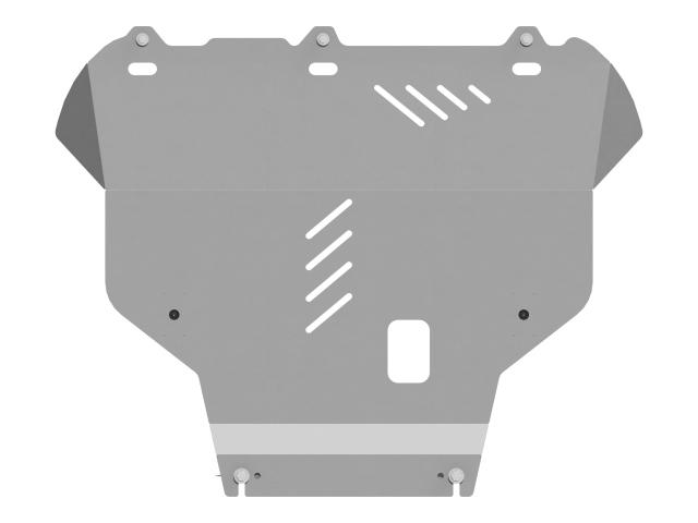 Защита картера и кпп алюминий 5 мм SHERIFF 082071
