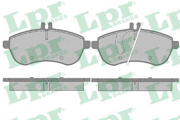 Комплект тормозных колодок, дисковый тормоз LPR/AP 05P1340