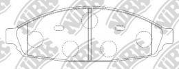 Комплект тормозных колодок NIBK PN0418