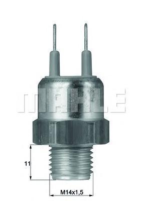 TSW18D BEHR-HELLA Термовыключатель, вентилятор радиатора