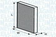 350203062050 MAGNETI MARELLI Фильтр, воздух во внутренном пространстве